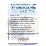 The 2015 Harvard/Glenn Foundation Symposium on Aging