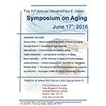 The 2016 Harvard/Glenn Symposium on Aging