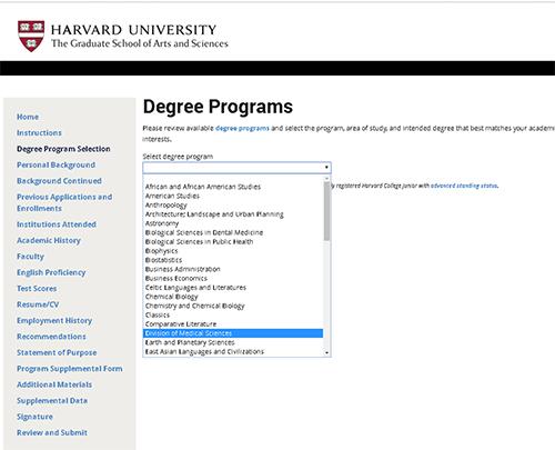Harvard Program in Neuroscience PhD Program
